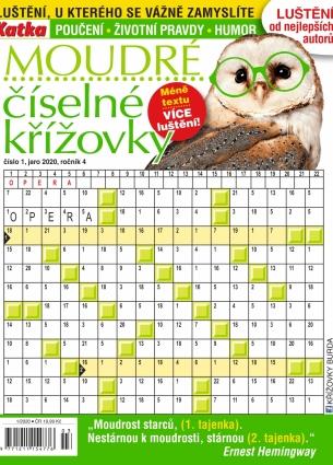 Katka Křížovky číselné moudré 1/2020