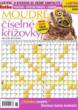 Katka Křížovky číselné moudré 2/2019