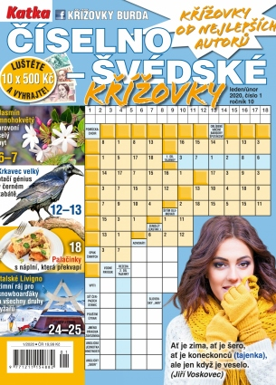 Katka Číselno-Švédské křížovky 1/2020