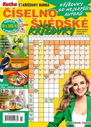 Katka Číselno-Švédské křížovky 2/2019