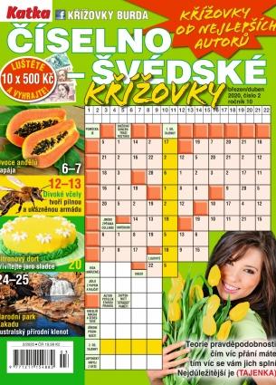 Katka Číselno-Švédské křížovky 2/2020