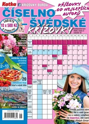 Katka Číselno-Švédské křížovky 3/2020