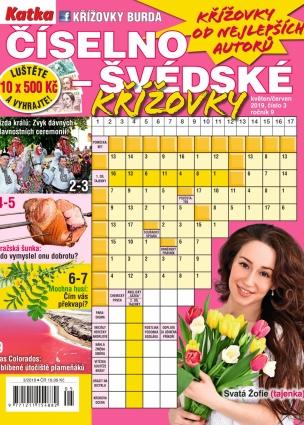 Katka Číselno-Švédské křížovky 3/2019