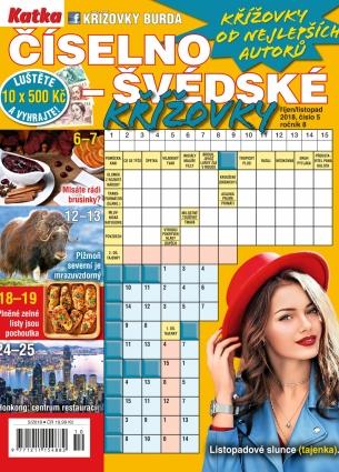 Katka Číselno-Švédské křížovky 5/2018