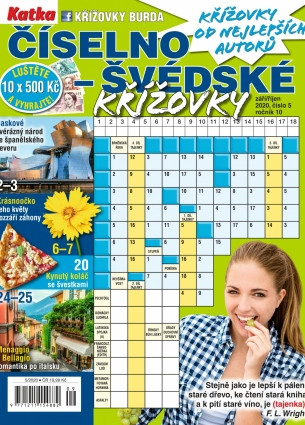 Katka Číselno-Švédské křížovky 5/2020