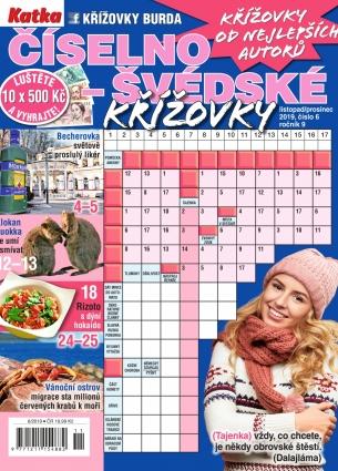 Katka Číselno-Švédské křížovky 6/2019