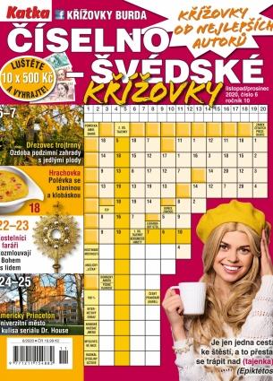 Katka Číselno-Švédské křížovky 6/2020