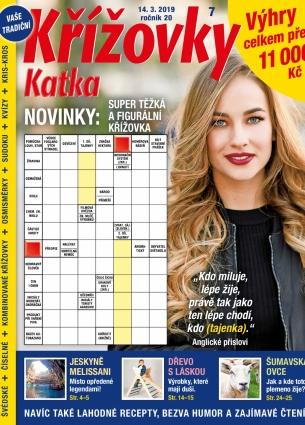 Katka Křížovky 7/2019