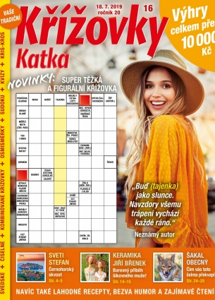 Katka Křížovky 16/2019