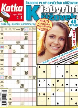 Katka Labyrint křížovek 4/2020