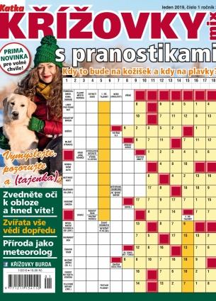 Katka Křížovky MIX - Křížovky s pranostikami 1/2019