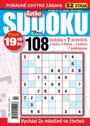 Katka Sudoku 5/2021