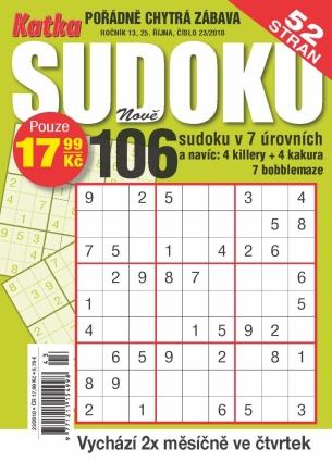Katka Sudoku 23/2018