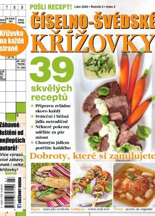 Pošli recept Číselno-Švédské křížovky 2/2020