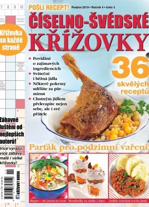 Pošli recept Číselno-Švédské křížovky 3/2019