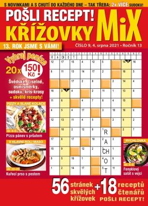 Pošli recept Křížovky MiX 9/2021