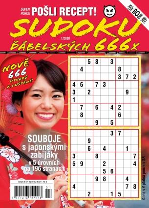 Pošli recept Superporce Sudoku 1/2020