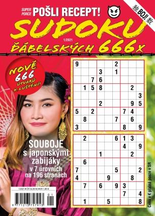 Pošli recept Superporce Sudoku 1/2021
