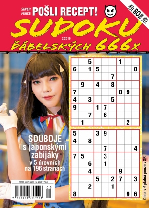 Pošli recept Superporce Sudoku 2/2019