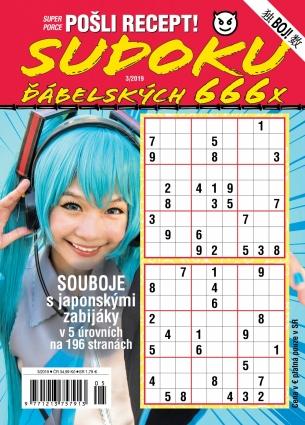 Pošli recept Superporce Sudoku 3/2019