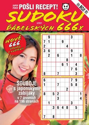 Pošli recept Superporce Sudoku 4/2021