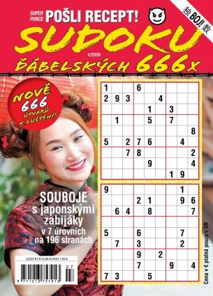 Pošli recept Superporce Sudoku 4/2020