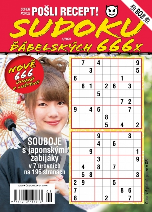 Pošli recept Superporce Sudoku 5/2020