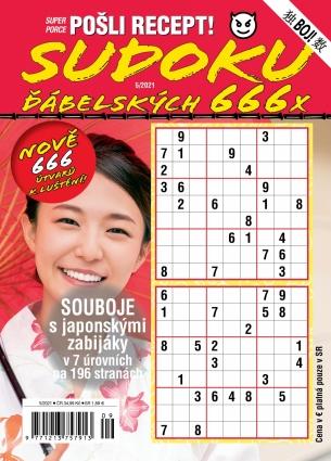 Pošli recept Superporce Sudoku 5/2021