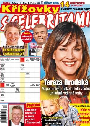 Křížovky s celebritami 3/2020