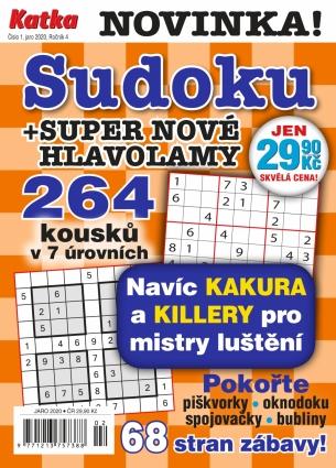 """Katka Sudoku """"264"""" - 1/2020"""