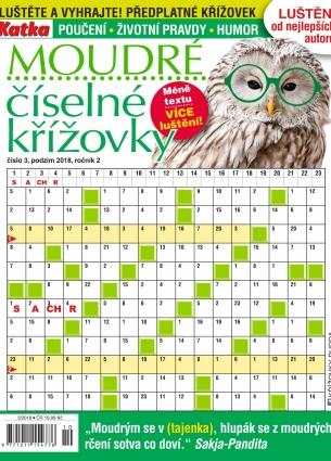 """SPKR Křížovky číselné """"moudré"""" 3/2018"""