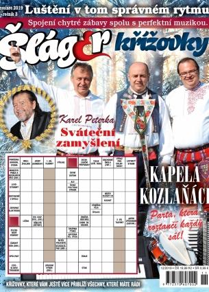 Křížovky se Šlágr TV 12/2019