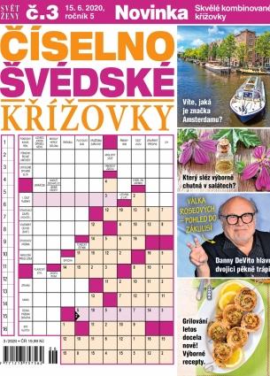 Svět ženy Číselno-Švédské křížovky 3/2020