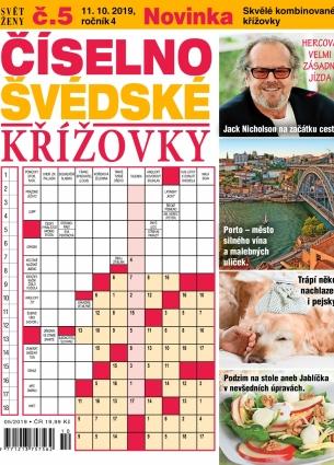 Svět ženy Číselno-Švédské křížovky 5/2019