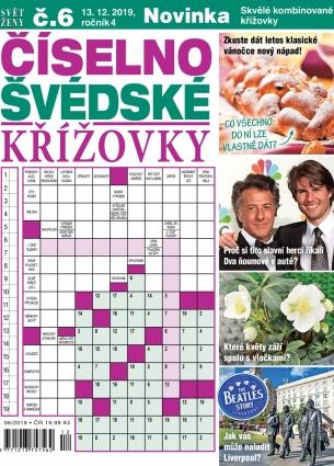 Svět ženy Číselno-Švédské křížovky 6/2019