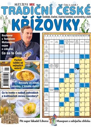 Svět ženy MIX křížovek 2/2020 - Tradiční české křížovky