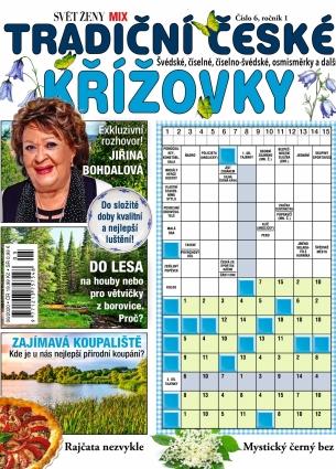 Svět ženy MIX křížovek 6/2020 - Tradiční české křížovky