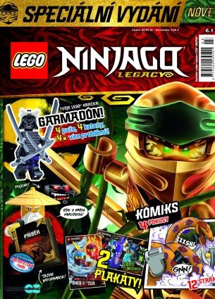 Lego Ninjago Legacy 1/2019