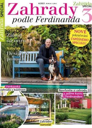 Naše krásná zahrada speciál 4/2021 - Zahrady podle Ferdinanda III. 4/2021