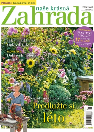 Naše krásná zahrada 9/2017
