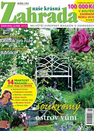 Naše krásná zahrada 6/2015