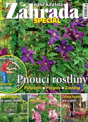 Naše krásná zahrada speciál - Pnoucí rostliny 3/2015