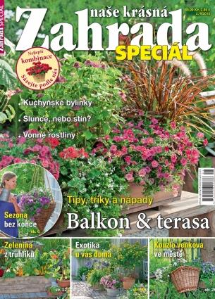 Naše krásná zahrada speciál - Balkon & terasa 5/2015