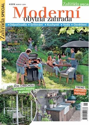 Naše krásná zahrada speciál 4/2018 - Obytná zahrada 4/2018