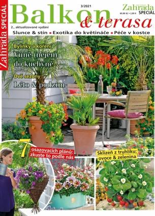 Naše krásná zahrada speciál 3/2021 - Balkon & terasa  3/2021