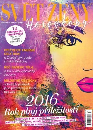 Svět ženy speciál - Horoskopy 2016 1/2015