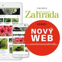 Časopis Naše krásná zahrada spouští web